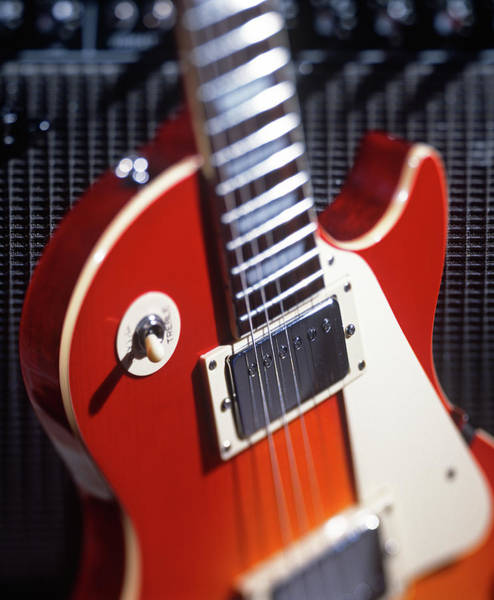 Wall Art - Photograph - Electric Guitar And Amplifier by Craig Brewer
