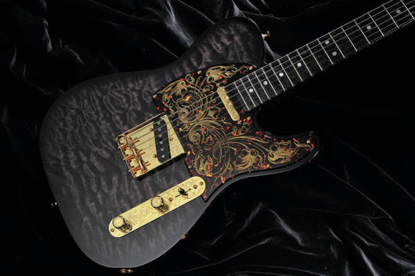 Publication Photograph - Electric Guitar Custom Beauties by Guitarist Magazine
