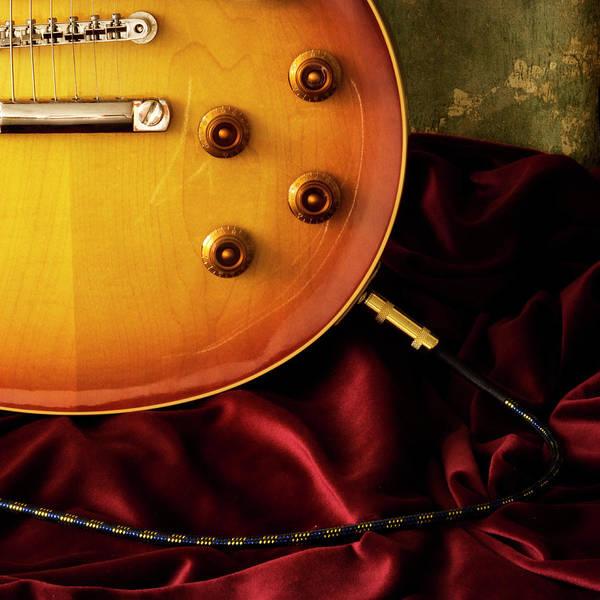Handle Photograph - Electric Guitar by Joe Clark