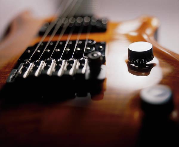 Handle Photograph - Electric Guitar by Jonty Wilde