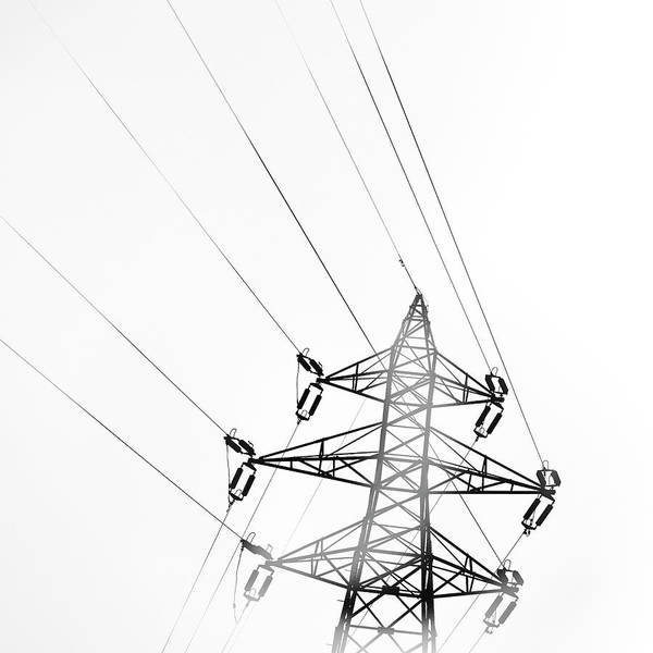 Electricity Generation Photograph - Electrical Tower by Am2photo