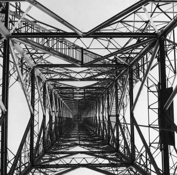 1961 Photograph - Electricity Pylon by Fox Photos