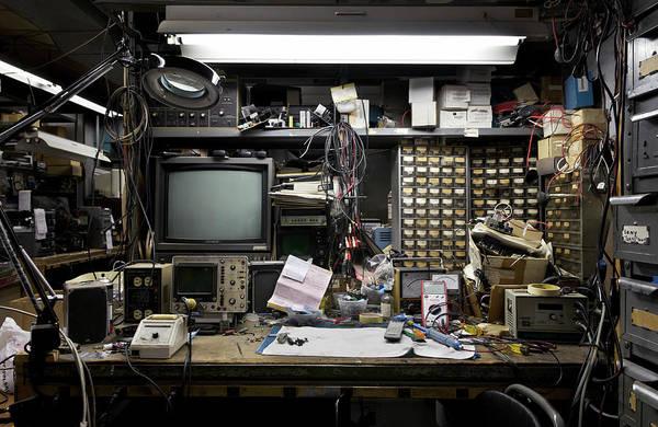 Messier Object Photograph - Electronics Bench 1 Workspace by Joseph O. Holmes / Portfolio.streetnine.com