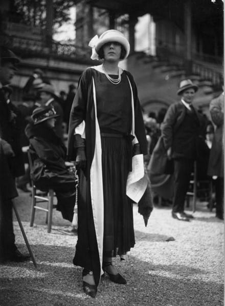 1923 Photograph - Elegance by Seeberger Freres