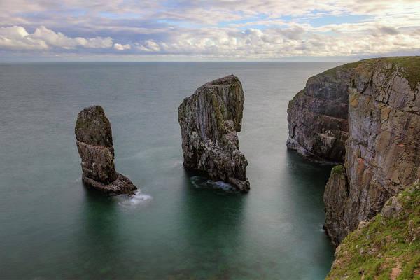 Wall Art - Photograph - Elegug Stacks - Wales by Joana Kruse