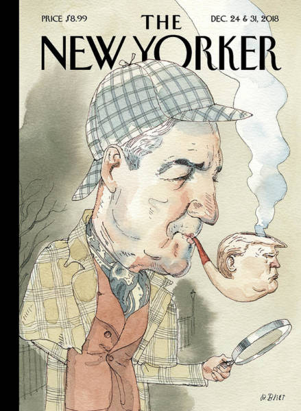 Mueller Drawing - Elementary by Barry Blitt