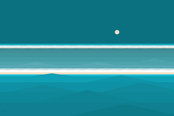 Digital Art - Elements - Aqua Water by Val Arie