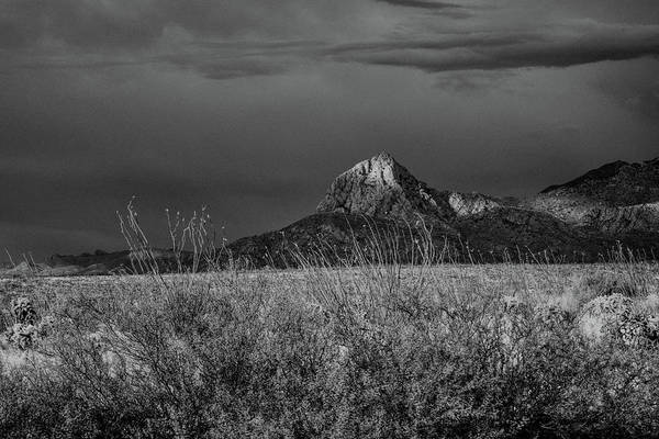 Photograph - Elephant Head Butte Black And White by Chance Kafka