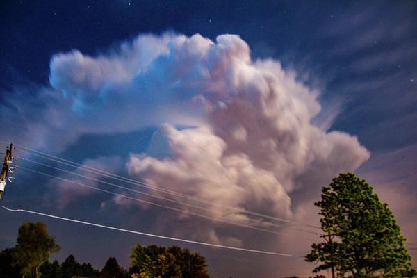 Photograph - Eletrical Thunderhead 003 by NebraskaSC