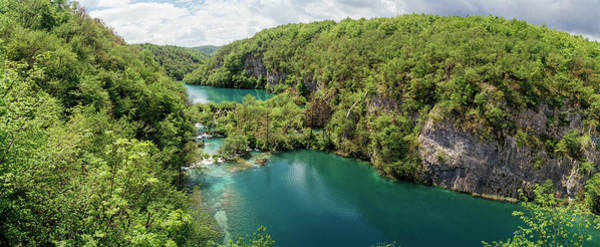 Wall Art - Photograph - Elevated View Of A Lake, Plitvice Lakes by Panoramic Images