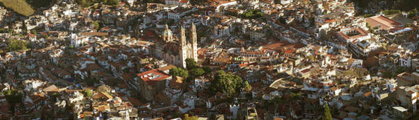 Wall Art - Photograph - Elevated View Of Cityscape, Taxco by Panoramic Images