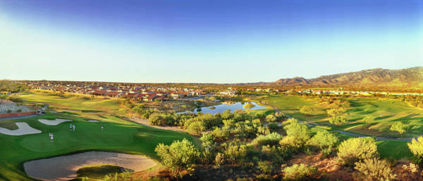 Wall Art - Photograph - Elevated View Of Golf Course, Sun City by Panoramic Images