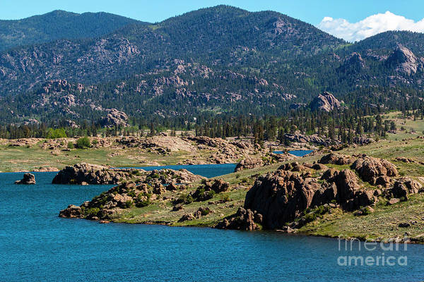 Photograph - Eleven Mile Reservoir In Summer by Steve Krull