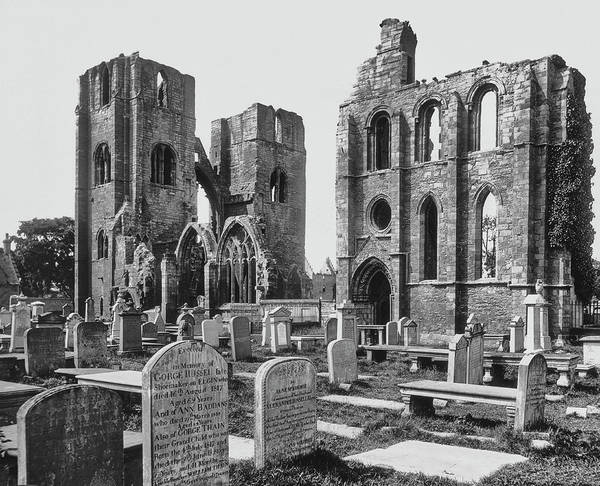 Elgin Photograph - Elgin Cathedral by Epics