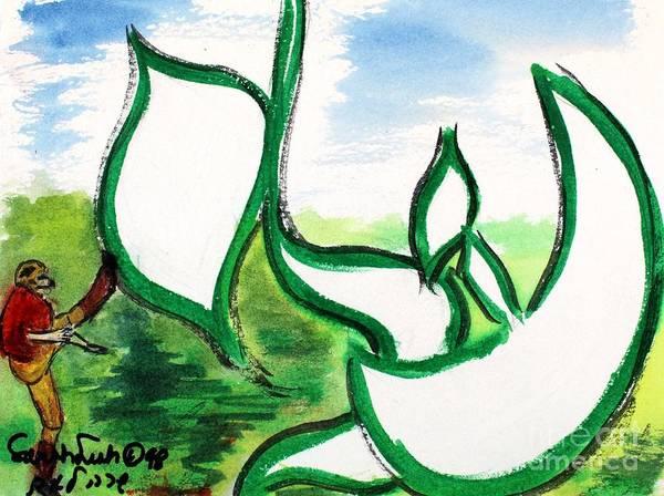 Painting - Eli Nm1-55 by Hebrewletters Sl