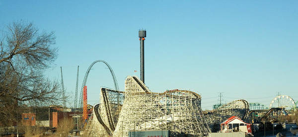 Wall Art - Photograph - Elitch Gardens Theme Park 1 by Marilyn Hunt