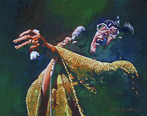 Painting - Ella Fitzgerald by David Lloyd Glover