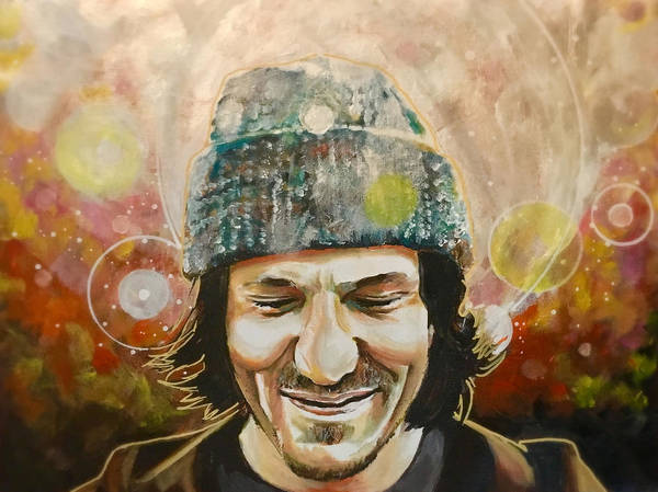 Painting - Elliott Smith by Joel Tesch