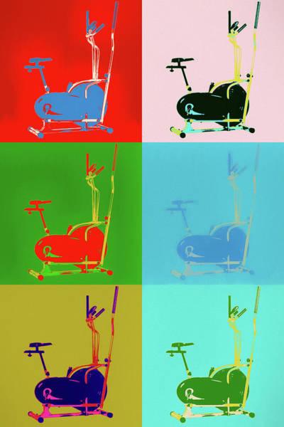 Painting - Elliptical Pop Art by Dan Sproul