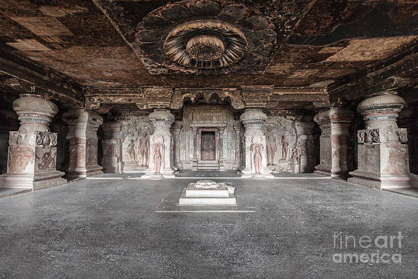 Wall Art - Photograph - Ellora Caves Near Aurangabad by Saiko3p
