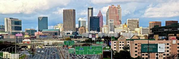 Wall Art - Photograph - Elongated Atlanta by Frozen in Time Fine Art Photography