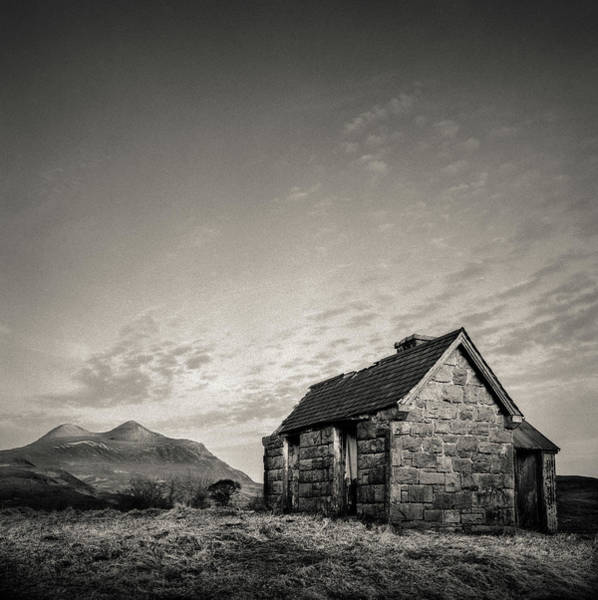 Wall Art - Photograph - Elphin Bothy by Dave Bowman