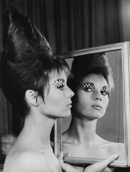Wall Art - Photograph - Elsa Martinelli Make Up On 1965 by Keystone-france