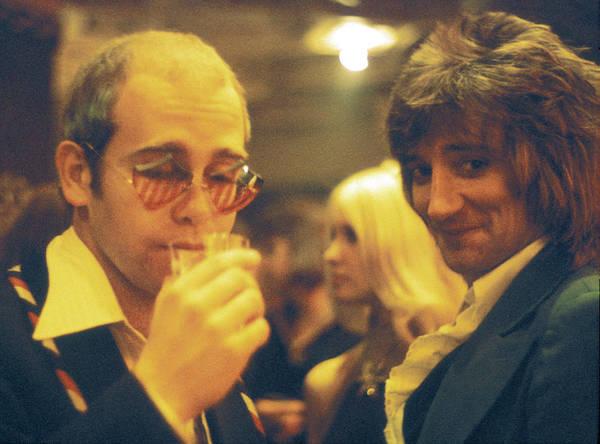 Elton John Photograph - Elton And Rod by Graham Wiltshire