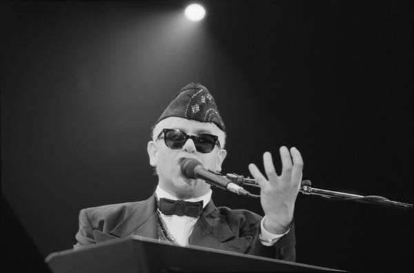 Elton John Photograph - Elton John by Douglas Doig