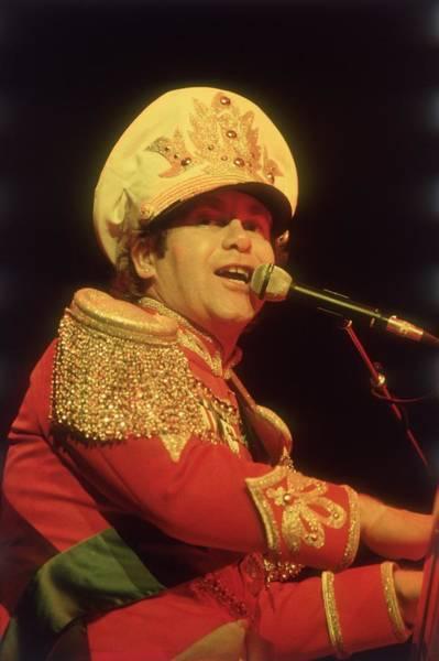 Elton John Photograph - Elton John by Keystone