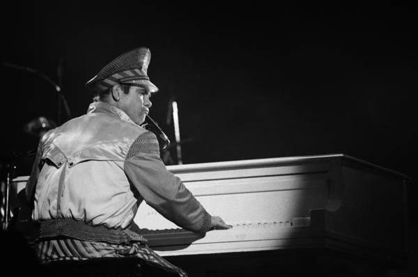 Elton John Photograph - Elton John Performs Live by Richard Mccaffrey