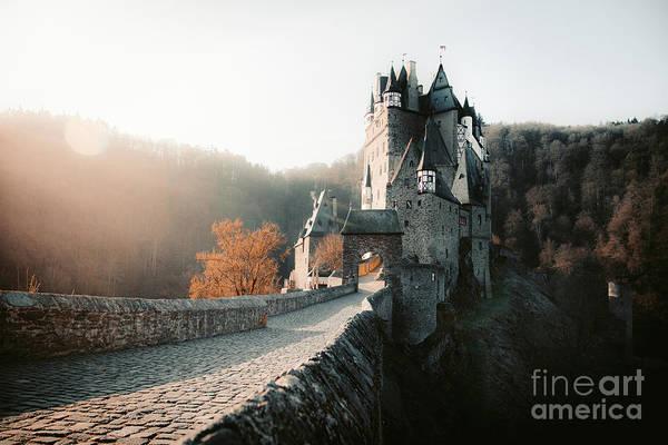 Wall Art - Photograph - Eltz Castle Fall Sunrise by JR Photography