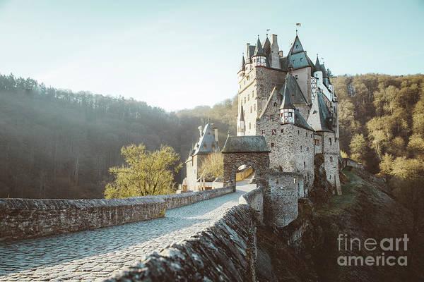 Wall Art - Photograph - Eltz Castle Sunrise by JR Photography