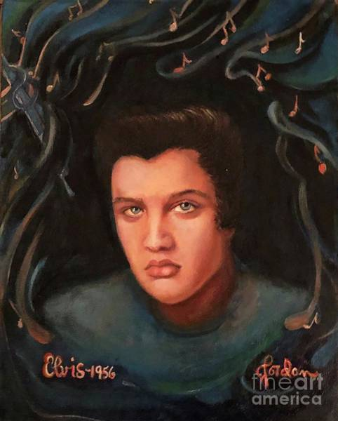 Painting - Elvis by Jordana Sands