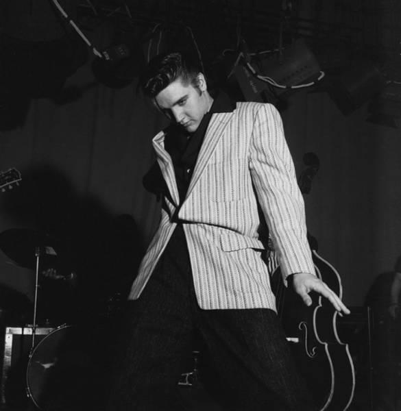 Photograph - Elvis On Milton Berle by Michael Ochs Archives