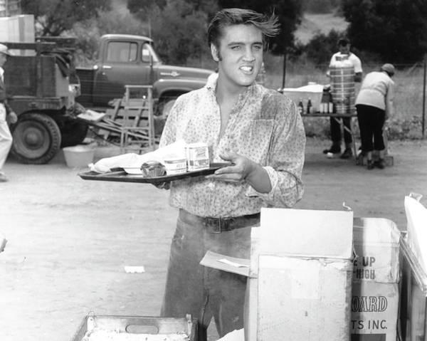 Photograph - Elvis Presley In Love Me Tender by Michael Ochs Archives