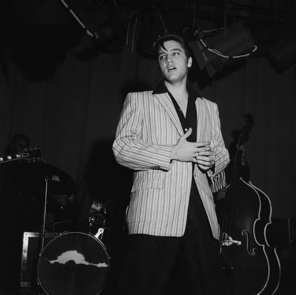Photograph - Elvis Presley On Milton Berle by Michael Ochs Archives