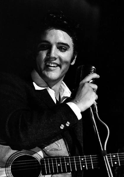 Florida Photograph - Elvis Presley by Robert W. Kelley
