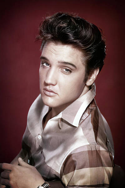 Wall Art - Photograph - Elvis Presley Studio Promo by Daniel Hagerman