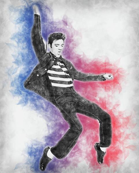 Painting - Elvis Presley, The Boy From Tupelo - 13 by Andrea Mazzocchetti