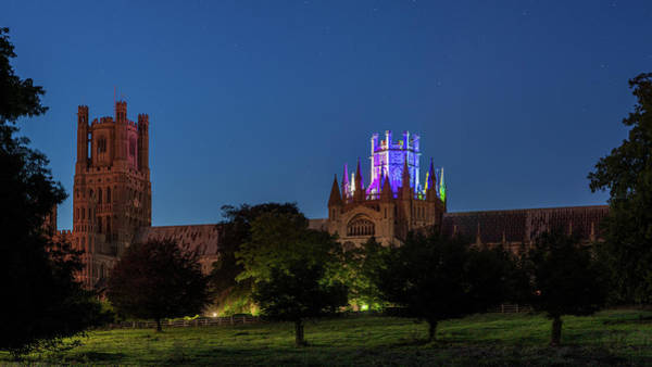 Photograph - Ely Cathedral - Pride IIi by James Billings