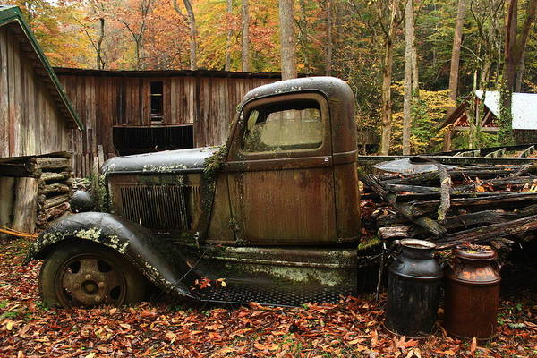 Wall Art - Photograph - Ely's Truck by Kevin Wheeler