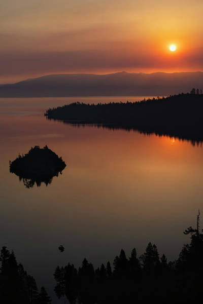 Photograph - Emerald Bay Sunrise by Jonathan Hansen