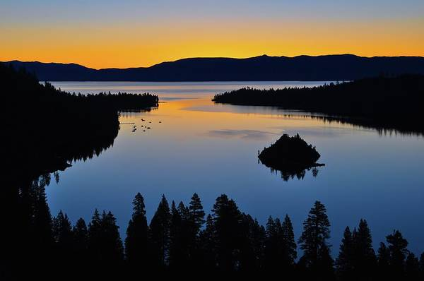 Lake Tahoe Photograph - Emerald Bay Sunrise, Lake Tahoe, Ca by Stevedunleavy.com