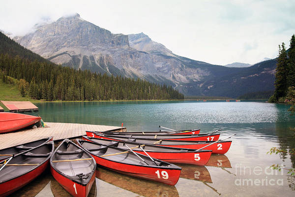 Vessel Wall Art - Photograph - Emerald Lake Is One Of The Most Admired by Hdsidesign