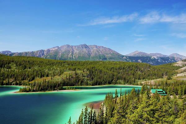 Turquoise Lake Photograph - Emerald Lake,yukon Canada by Choja