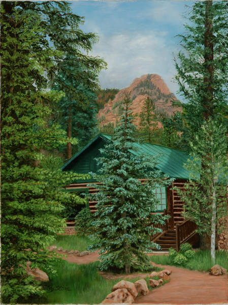 Painting - Emerald Valley by Alice Betsy Stone