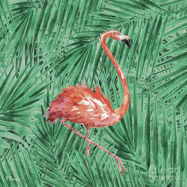 Wall Art - Painting - Emerald Veld V - Palms by Paul Brent