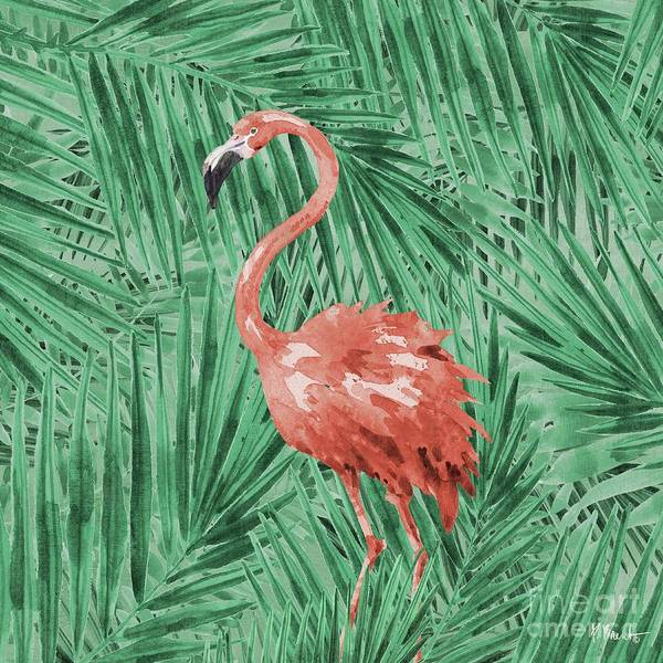 Wall Art - Painting - Emerald Veld Vi - Palms by Paul Brent