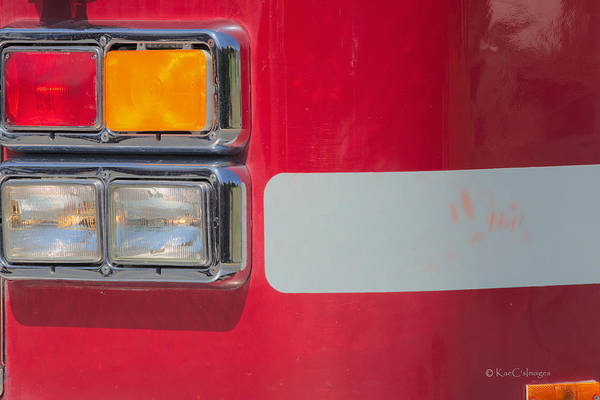 Wall Art - Photograph - Emergency Vehicle #2 by Kae Cheatham